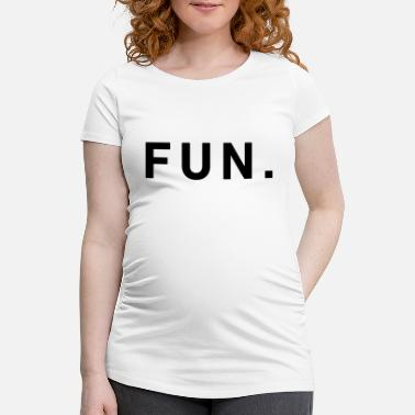 Amusement Amusement - T-shirt de grossesse