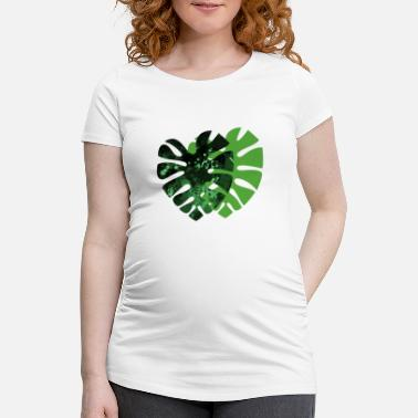 Monstera monstera - Women's Pregnancy T-Shirt