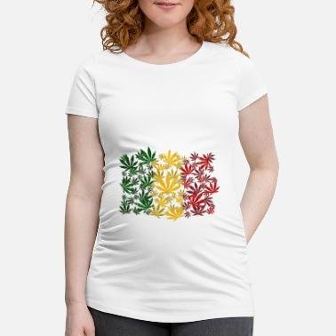 Cannabis Cannabis cannabis - T-shirt de grossesse