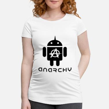 Vector ANARCHOID1 VECTOR - Maternity T-Shirt