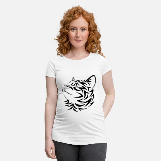Steal T-Shirts - kisse Sweatshirt - Maternity T-Shirt white