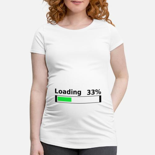 6ffbd7b3a Loading 33% 3rd month pregnant baby belly idea Maternity T-Shirt ...