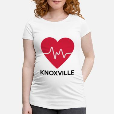 Knoxville heart Knoxville - Women's Pregnancy T-Shirt