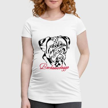 Dessin Dogue De Bordeaux Dogue de Bordeaux - T-shirt de grossesse Femme