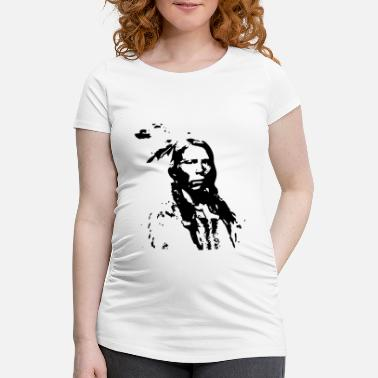 Chiefs King Indian chief - Women's Pregnancy T-Shirt