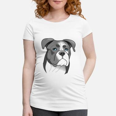 Staffbull Bulldog - Nuggets 2 - Camiseta premamá