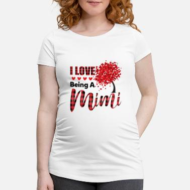 Mimi I Love Being A Mimi Funny Christmas - Maternity T-Shirt