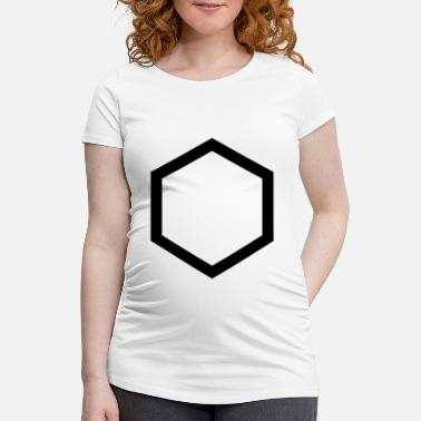 Hexagone hexagon - T-shirt de grossesse