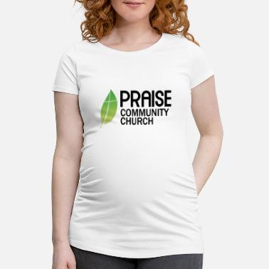 Community praise community church - T-shirt de grossesse