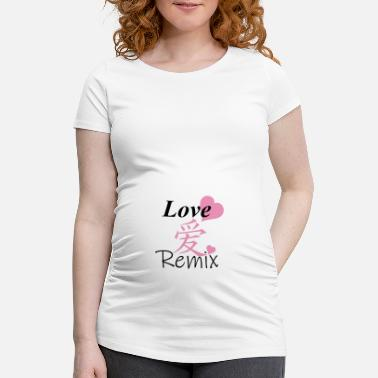 Remix Love Remix - Schwangerschafts-T-Shirt