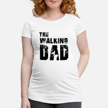 Dad Of The Year The Walking Dad - Gravid T-skjorte