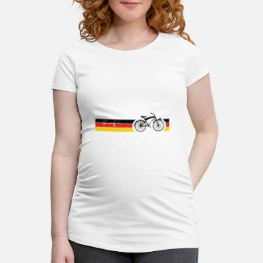 National Vélo National Colors National Germany Gift - T-shirt de grossesse