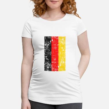 Schland Tyskland Flag Nation Tysk Homeland Gave - Vente T-shirt