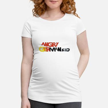 Angry Kid ANGRY GERMAN KID - Women's Pregnancy T-Shirt