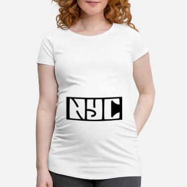 Ny New York - Maternity T-Shirt