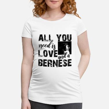 Bernese mountain dog - Zwangerschaps T-shirt