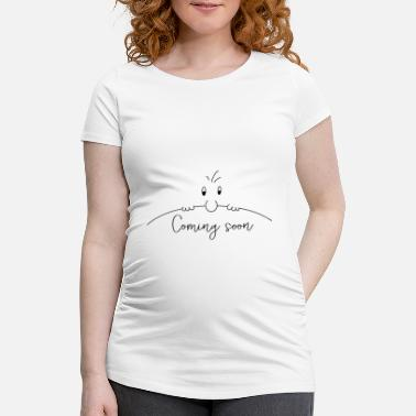 Mummy Coming Soon - Curious - Maternity T-Shirt