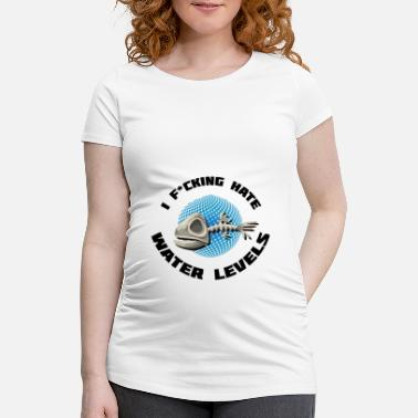 Game Gaming water level nerd geek - Maternity T-Shirt