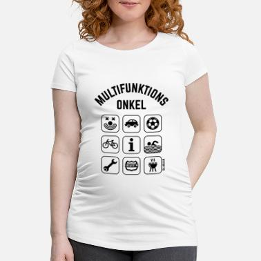 Icon Multifunktions Onkel (9 Icons) - Schwangerschafts-T-Shirt