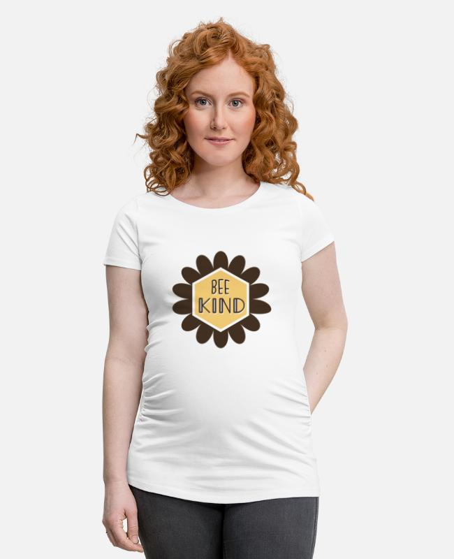 Bumble Bee T-Shirts - Bee child - Maternity T-Shirt white