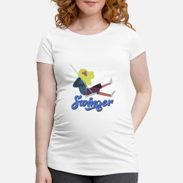 Swingers SWINGER / gift - Women's Pregnancy T-Shirt
