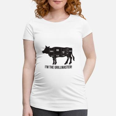 Quotes Grillmeister - Funny BBQ Quote - Gift - Maternity T-Shirt