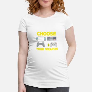 Console Console Vintage - Maternity T-Shirt