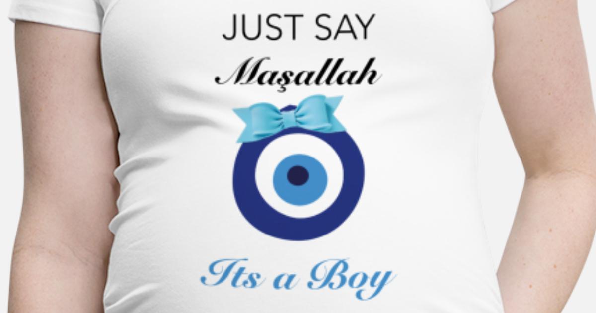 Design Zwangerschapskleding.Zwangerschapskleding Het Is Een Jongen Zwangerschaps T Shirt