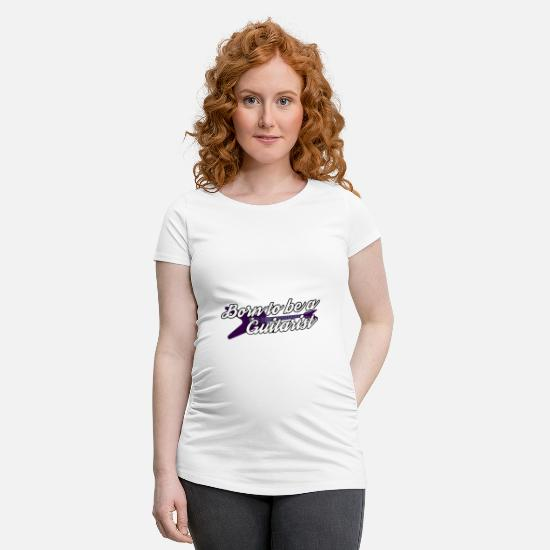 Guitar Player T-Shirts - Guitar guitarist guitarist guitarist shirt - Maternity T-Shirt white
