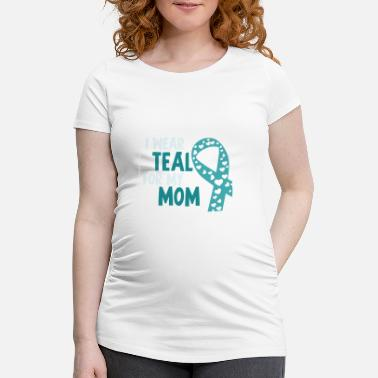 Aids Mor Ovarian Cancer Support Fun Gåva - Gravid T-shirt