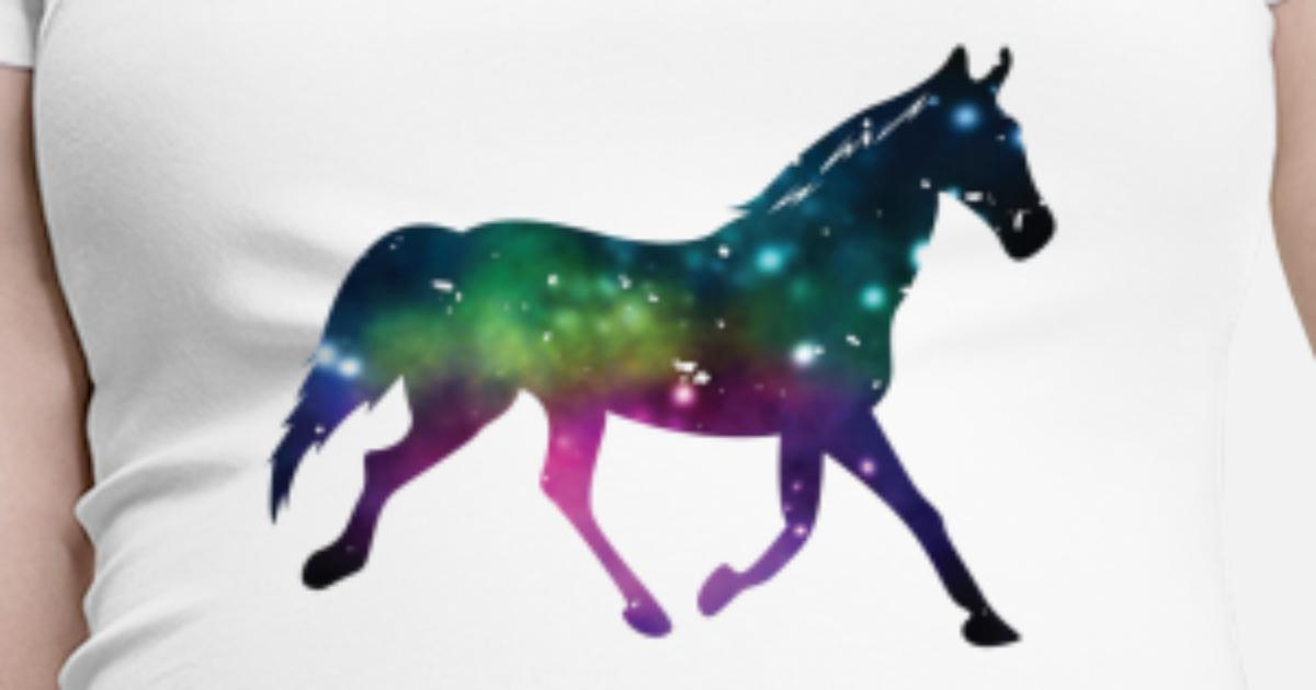 Pferde Shirt Geschenk Pferdeliebhaber Pferd Girls Schwangerschafts T
