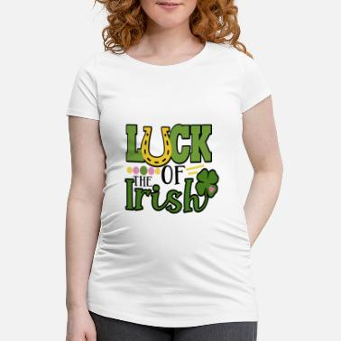 Folk LUCK OF THE IRISH - Schwangerschafts-T-Shirt