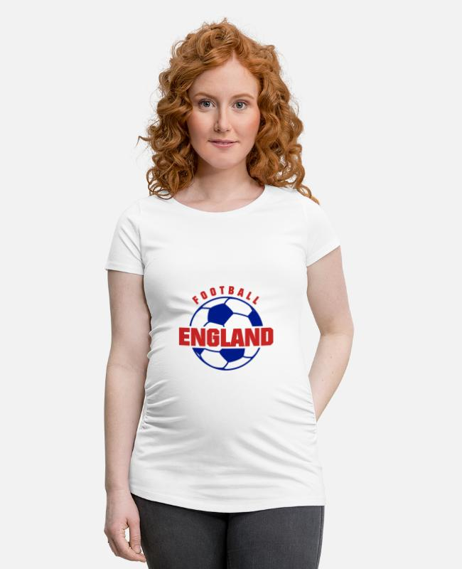 World Championship T-Shirts - England football - Maternity T-Shirt white