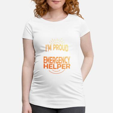 Date Of Birth emergency Responders - Maternity T-Shirt