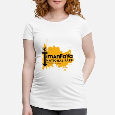 National Timanfaya National Park - Lanzarote, Spain - Maternity T-Shirt