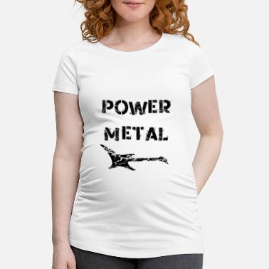 Power Metal Power Metal Electric Guitar - Maternity T-Shirt