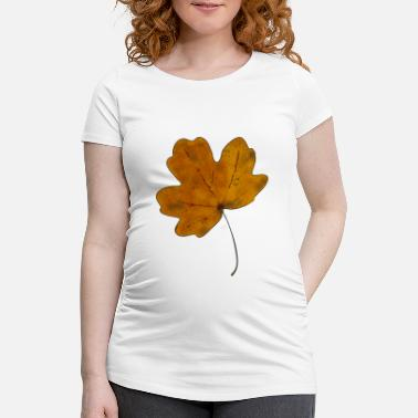 Dirty maple leaf - Schwangerschafts-T-Shirt
