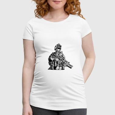 SOLDIERS FIGHTER - Soldat & Soldaten Shirt Present - Frauen Schwangerschafts-T-Shirt