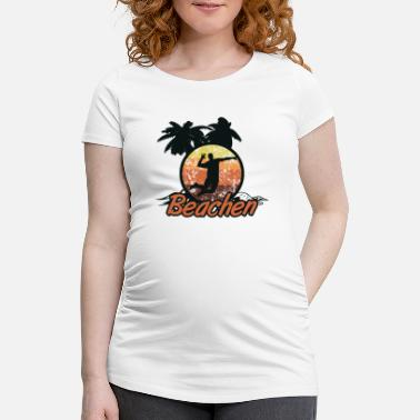 Beach Volley beach-volley - T-shirt de grossesse