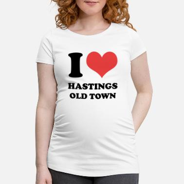 I Love Hastings Old Town - Maternity T-Shirt