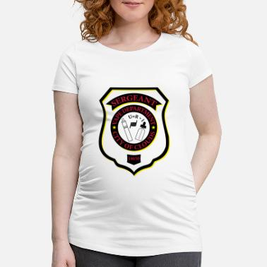 18650 Sergeant Vape Badge - Women's Pregnancy T-Shirt