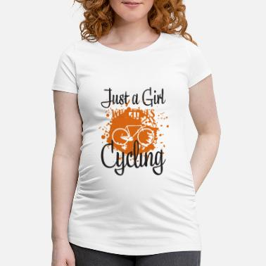 Bike Cycling - Maternity T-Shirt