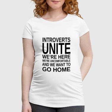 ++ ++ Introverte Unite - Vente-T-shirt