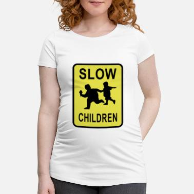 Slow Slow Children - Maternity T-Shirt