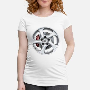 Rim rims - Maternity T-Shirt