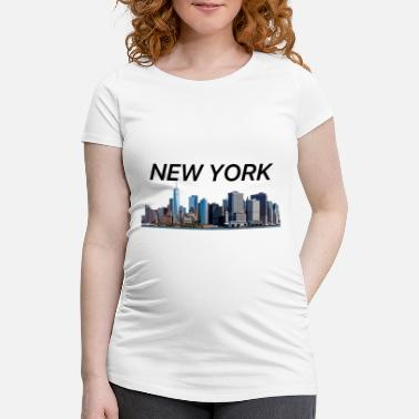 Nyc New York - Schwangerschafts-T-Shirt
