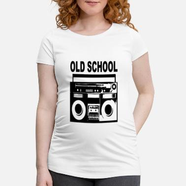 Old School old-school - T-shirt de grossesse