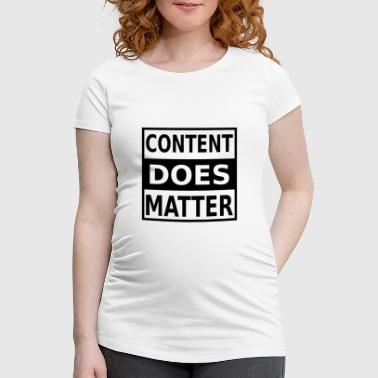 Content Marketing Internet Online Data digital s - Frauen Schwangerschafts-T-Shirt