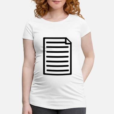 Paper Paper - Maternity T-Shirt