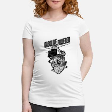 Gasoline Powered - Maternity T-Shirt